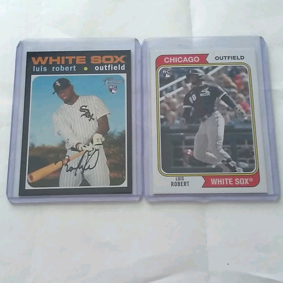 2/$20 Topps Luis Roberts 2 Card Rookie LOT